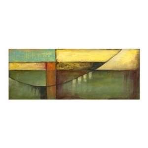 Graphic Suspension Bridge on FAP by Jennifer Goldberger