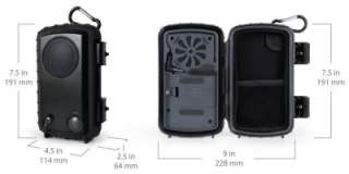 Portable Amplified Speaker and Case for iPod  Player Waterproof