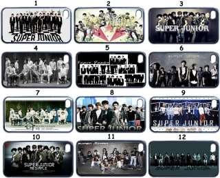 Pop Super Junior Band iPhone 4 iPhone 4S Case (Back Cover Only