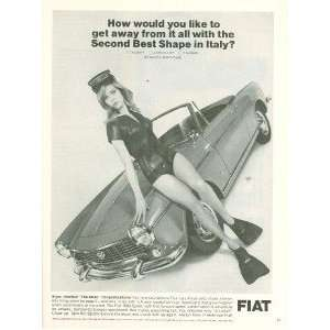 1966 Advertisement Fiat Sexy Skin Diver: Everything Else