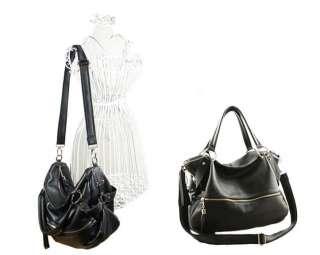 Genuine Leather Purse Shoulder Bag Handbag Tote Satchel