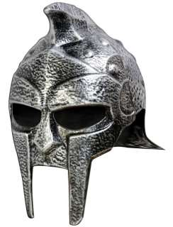 Silver Silver Gladiator Helmet   Roman and Greek Costum