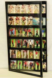 Sport Trading Card Display Case Cabinet Rack Holder