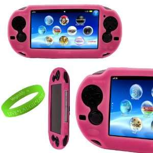 VanGoddy Gaming Accessories Electric Pink Slip On