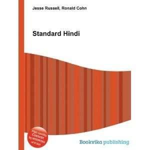 Standard Hindi Ronald Cohn Jesse Russell Books