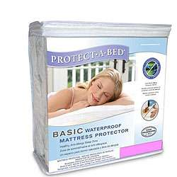 Bed Basic Cal King Waterproof Mattress Protector  Overstock