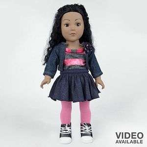 Dollie & Me Doll Fits American Girl Clothes and 18 doll NEW