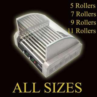 Commercial Hot Dog Roller Grill Hotdog Cooker Machine