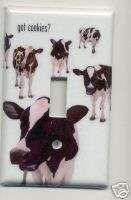 COWS GOT COOKIES? Single Light Switch Cover