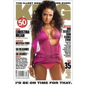 KING Magazine: Christina Milian: KING Magazine: Books