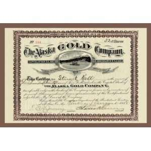 Exclusive By Buyenlarge The Alaska Gold Company 20x30 poster