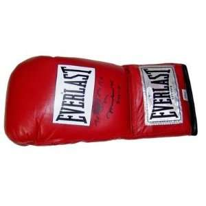 Muhammad Ali INSCRIBED SIGNED Everlast Boxing Glove OA