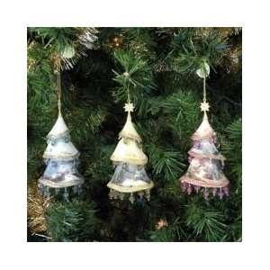 Thomas Kinkade Christmas Tree Ornaments Set of 3