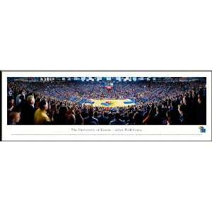 Kansas University Basketball Jayhawks Panoramic   Allen