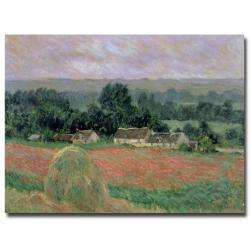 Claude Monet Haystacks at Giverny 1886 Canvas Art