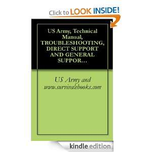 US Army, Technical Manual, TROUBLESHOOTING, DIRECT SUPPORT AND GENERAL