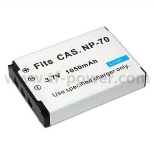 High Capacity Replacement Battery For Casio NP 70 Camera