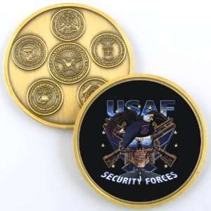AIR FORCE SECURITY FORCES PHOTO CHALLENGE COIN YP458