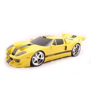 Badd Ride 1 8 Radio Control 05 Ford GT   Yellow  Toys & Games