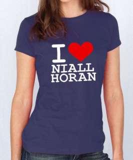 Love Niall Horan T shirt 1 Direction X Factor (1136)