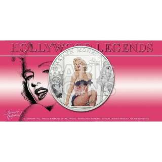 Islands $5 2011 Silver Proof MARILYN MONROE with real diamond insert