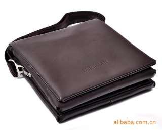 Mens PU leather Messenger/Shoulder/Briefcase/Satchel BAG Black 965