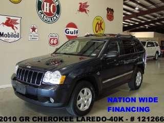 2010 GRAND CHEROKEE LAREDO,V6,AUTOMATIC,CLOTH,17 IN WHEELS,40K,WE