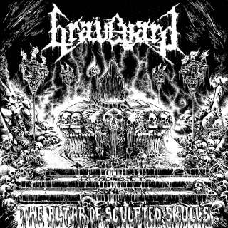 The Altar Of Sculpted Skulls AUTOPSY CARNAGE DEATH ASPHYX