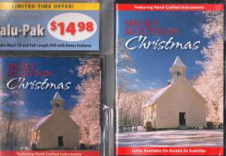 Smoky Mountain Christmas DVD and CD Combo 2 Pack Gift Set