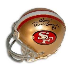 Russ Francis Autographed San Francisco 49ers Mini Helmet