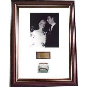 Joe DiMaggio Autographed Ball   & Marilyn Monroe Sports