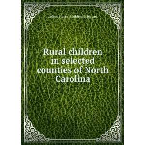 Rural children in selected counties of North Carolina