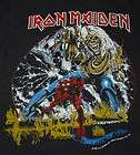 VTG IRON MAIDEN THE # OF THE BEAST TOUR SHIRT 1982 M