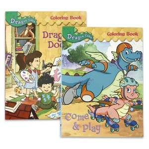 Dragon Tales Jumbo 96 Page Coloring & Activity Books