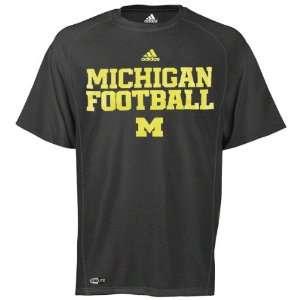 Michigan Wolverines adidas Heathered Black 2011 Football