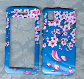 FLOWER STRAIGHT TALK SAMSUNG FINESSE R810C PHONE COVER