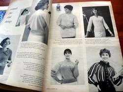 VINTAGE 1950s McCALLS NEEDLEWORK & CRAFTS PATTERNS BOOK Knitting