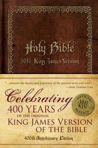 Holy Bible 1611 King James Version   Official 400th Anniversary