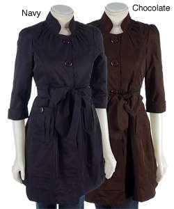 Romeo & Juliet Womens Trench Jacket