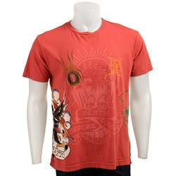 Ed Hardy Mens Death Before Dishonor T shirt  Overstock