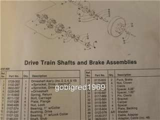 Wildcat 650 1988 Arctic Cat Snowmobile Parts Manual LOTS More Manuals