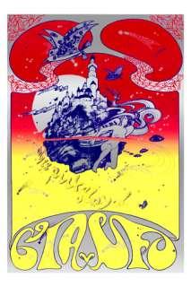 Hapshash Pink Floyd CIA vs. UFO Poster