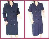 United Airlines Stewardess Flight Attendant Uniform New