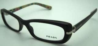 NEW PRADA SPR PR 13N 13 N 1AB101 BLACK RX FRAME *