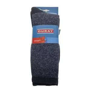 Navy Blue Blend High Tech Thermal Wool Socks 4246   Ladies