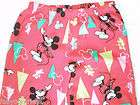 Size Small 3 5 PANTS Womens Juniors Pajama Lounge MICKEY MOUSE DISNEY