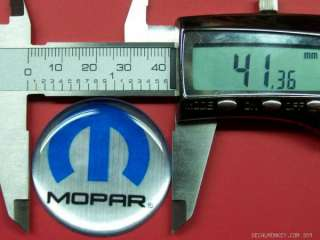 MOPAR 1.58 HUB CAP RIM STERRING WHEEL EMBLEMS DODGE