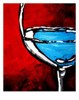 Fine Wine II Giclee Print by Megan Aroon Duncanson at AllPosters