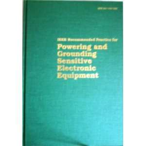 IEEE Std 1100 1992, IEEE Recommended Practice for Powering