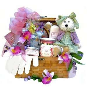 Spa and Gourmet Gift Basket for Women   Mothers Day Gift Idea for Her